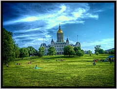 Connecticut State Capitol ~ Hartford ~ Connecticut (Onasill ~ Bill Badzo - New Format) Tags: connecticut state capitol hartford ct nrhp historic us national landmark architecture eastlake style gothic architect richard m upjohn bushnell park historical tours attraction dome exterior building onasill downtown golddome