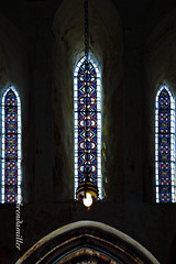 Church Light (bMi2fotografx) Tags: noflash historic daylight stainedglass church conwy wales uk