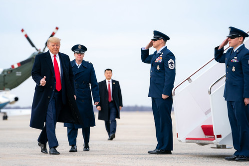 President Trump Departs for Florida by The White House, on Flickr
