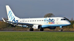 G-FBJI (AnDyMHoLdEn) Tags: flybe embraer egcc airport manchester manchesterairport 05r