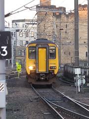 156490 arrives at Newcastle (22/1/20) (*ECMLexpress*) Tags: arriva northern class 156 super sprinter dmu 156490 newcastle central ecml