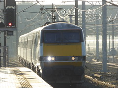 91119 arrives at York (22/1/20) (*ECMLexpress*) Tags: lner london north eastern railway 225 class 91 91119 82209 york ecml