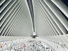 NYC (Roundy Photo) Tags: nyc newyorkcity lines architecture mall pattern iphone shotoniphone westfieldworldtradecenter westfieldwtc iphone11pro wideangle explore flickrfriday exploremore yourculture