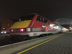 91115 at Newcastle (23/1/20) (*ECMLexpress*) Tags: lner london north eastern railway 225 class 91 91115 82218 newcastle central ecml