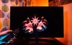 23-366-2020 (FadeToBlackLP) Tags: lightpainting lightart longexposurephotography longexposurecreativity hands tv screen nophotoshop 3d pop sonya7ii nikon20mmf18g lgtv lg lifeisgood lightpaintingbrushes