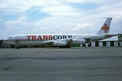 D-ABUA (Transcorp Airways) (Steelhead 2010) Tags: transcorp boeing b707 b707320c cargo freighter ham dreg dabua