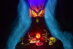 (sagittairagon76) Tags: lightpainting spirit divination bouledecristal longexposure
