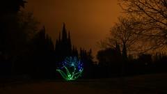 (sagittairagon76) Tags: lightpainting longexposure fleurdelumiére night