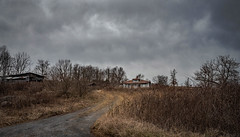 Abandoned (Bob G. Bell) Tags: abandoned farm lane countryroad clouds summers wv bobbell nikon d800