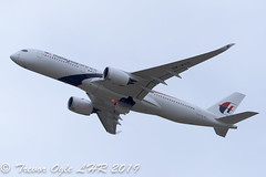 DSC_4884Pwm (T.O. Images) Tags: 9mmad malaysia airlines airbus a350 lhr london heathrow