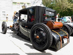 "1927 Ford Model T Coupe ""King T"" (splattergraphics) Tags: 1927 ford modelt coupe hotrod kingt customcar carshow chesapeakecitylionsclub chesapeakecitymd"