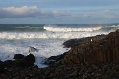 The Giants Causeway (timothyhart) Tags: uk northern ireland fin giants causeway honeycomb geology rough seas waves breakers january 2020