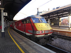 82209 at Newcastle (22/1/20) (*ECMLexpress*) Tags: lner london north eastern railway 225 class 91 91119 82209 newcastle central ecml
