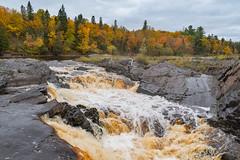 Rocky Cascade (Greg Riekens) Tags: autumn usa rocks fallcolors jaycookestatepark river nikond500 scenic stlouisriver landscape fallleaves midwest fall statepark minnesota