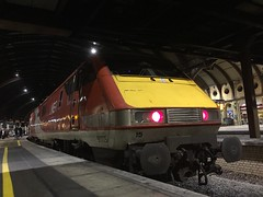 91115 at York (23/1/20) (*ECMLexpress*) Tags: lner london north eastern railway 225 class 91 91115 82218 york ecml