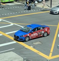 HSBC Singapore Rubby Sevens 2020 (l16812) Tags: singapore taxi advertisement bank sport appleiphonexsmax