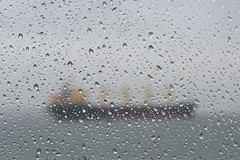 Various_Jan_2020_XT32193 (labrossephotography) Tags: captureonepro freighter ship raincouver vancouver winter rain droplets window storm seascape englishbay wet water