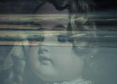 Memories (www.ilkkajukarainen.fi) Tags: yö night portreit doll antique landscape maisema nature luonto suomenlinna suomi helsinki toy collectibles lights valot lumi snow eyes simät glass finland finalande eu europa scandinavia