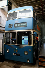 Photo of Trolleybus: Bradford Corporation: 737 DKY737 Karrier W/East Lancs