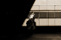 Tokyo sketch 95 (sakamichi-66) Tags: japan tokyo shibuya monochrome sepia street shadow fuji xf1680mmf4 xt2 happyplanet asiafavorites