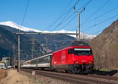 SBB Re460 091 (maurizio messa) Tags: nikond90 re460 ir1417 valais vallese wallis switzerland svizzera mau bahn ferrovia treni trains railway railroad