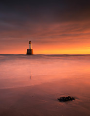 Rattray Head Lighthouse (PeskyMesky) Tags: rattrayhead lighthouse aberdeenshire scotland landscape longexposure sunrise sunset water sea northsea beach canon canon5d eos