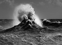 Volcanic seas (tom ballard2009) Tags: shoreham sussex beach sea spray storm waves wind seascape water volcanic mono blackwhite blackandwhite rough