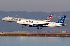 jetBlue Airways | Airbus A320-200 | N597JB | San Francisco International (Dennis HKG) Tags: aircraft airplane airport plane planespotting canon 7d 100400 sanfrancisco ksfo sfo n597jb n585uw jetblueairways jetblue jbu b6 airbus a320 airbusa320