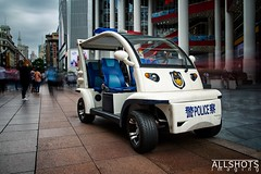 Police cruiser, Chinese style (Allshots Imaging) Tags: china shanghai tourism travel asia photography dslr canon canon60d 60d eos60d police law enforcement vehicle car miniature