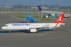 """Saraçhane"" Turkish Airlines TC-JTM Airbus A321-231 Sharklets cn/7242 @ EHAM / AMS 07-11-2017 (Nabil Molinari Photography) Tags: saraçhane turkish airlines tcjtm airbus a321231 sharklets cn7242 eham ams 07112017"