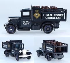 LDG-020-011-RN1003 (adrianz toyz) Tags: adrianztoyz lledo days gone diecast toy model set dg royal navy collection rn1003 military dg20 ford truck hms rooke gibraltar dg20011