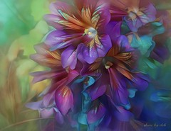 Daydream (done by deb) Tags: digitalflowerpainting digitalart digitalpainting deepdreamgenerator jixipix pastello brightcolors vividcolor