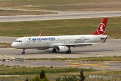 TC-JSK (mduthet) Tags: tcjsk airbus a321 turkishairlines aéroportmarseilleprovence