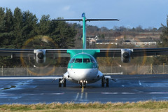 EI-FAV ATR72-600 EGPH 12-01-20 (MarkP51) Tags: plane airplane scotland airport nikon edinburgh image aircraft edi airliner d500 egph markp51 nikonafp70300fx sunshine sunny atr72 atr72600 eifav ein ei stobartair aerlingusregional