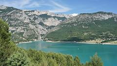 The beautiful turquoise lake (Chemose) Tags: sony ilce7m2 alpha7ii juin june été summer provence paysage lac saintecroix water eau verdon lake turquoise gorgesduverdon landscape france