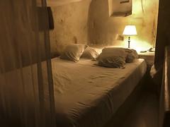 Matera :La Camera da letto della casa grotta (sandromars) Tags: italy basilicata matera cavehouse bedroom