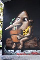 Ador_6830 boulevard du Général Jean Simon Paris 13 (meuh1246) Tags: streetart paris ador boulevarddugénéraljeansimon lelavomatik paris13
