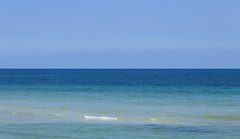 Shades of Blue (|Sarah|) Tags: australia beach blue canon1200d colourful glenelg landscape ocean photography sea seascape shades southaustralia tourism travelphotography vibrancy vibrant water