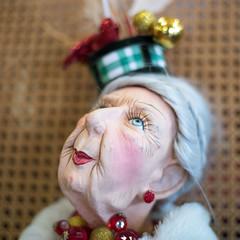 Party animal (OzzRod) Tags: pentax k1 zenitarm50mmf17 зенитарм mannequin doll woman bokeh antique dailyinjanuary2020
