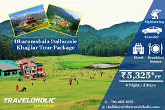 Dharamshala-Dalhousie-Khajj (traveloholicindia) Tags: travel himachaltourism tourism tourpackages thetraveloholic sightseeing accommodation khajjiar tour package dharamshala dalhousie