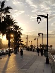 sunset (Levana Una Laitman) Tags: beirut lebanon seafront