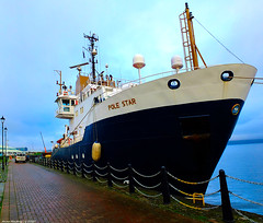 Scotland Greenock docked the Scottish lighthouse and navigation buoy repair ship Pole Star 22 January 2020 by Anne MacKay (Anne MacKay images of interest & wonder) Tags: scotland greenock docked scottish lighthouse navigation buoy repair ship pole star 22 january 2020 picture by anne mackay