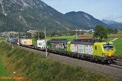 TX Logistik BR 193 551-9, BR 193 731-7 (isebahnverchehr.ch) Tags: txlogistik alphatrains ell siemens vectron br193 inntal brennerbahn