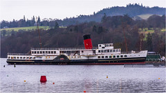 PS Maid of the Loch (Clive1945) Tags: d7100 paddlesteamer boat balloch scotland 1953