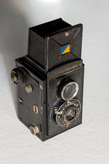 _DSC2341 (durr-architect) Tags: voigtländer brillant twin lens reflex camera metal bakelite finder historic vintage