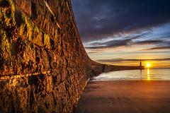 Seaham Harbour, Co Durham (DM Allan) Tags: seaham harbour durham coast heritagecoast dawn sunrise beach lighthouse pier