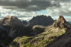 INTO THE ROCK SYSTEM (Stephen Hunt61) Tags: mountains lavaredo toblin landscape landscapes nationalpark dolomiti dolomites dolomitibellunesi alpine alps rocks unesco