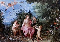 IMG_6864 Jan Brueghel I  WOMEN IN EUROPEAN PAINTING (jean louis mazieres) Tags: peintres peintures painting musée museum museo italia milano pinacotecaambrosiana