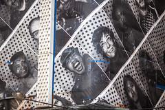 Inside VS Outside (Thomas Hawk) Tags: america insideout insideoutproject jr jrartist manhattan nyc newyork newyorkcity timessquare usa unitedstates unitedstatesofamerica photograffeur