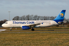 OO-TCN (PlanePixNase) Tags: aircraft airport planespotting haj eddv hannover langenhagen plane thomascook belgium airbus 320 a320